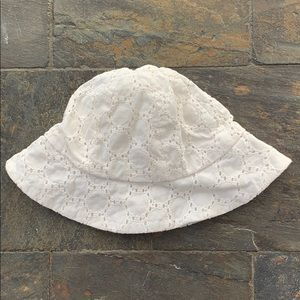 Old Navy Baby Girls Sun Hat with Eyelet Design